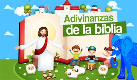preguntas chistosas cristianas 15 adivinanzas b 237 blicas para ni 241 os adivinanzas y