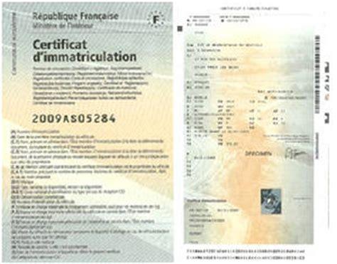 certificat d immatriculation site officiel de la commune