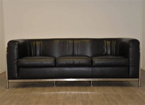 zanotta sofa for sale original zanotta onda leather sofa designed by paolo