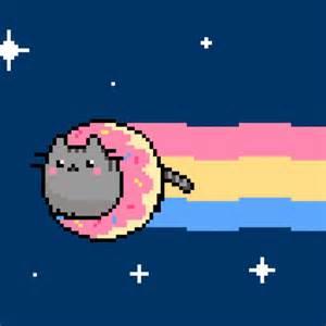 Nyan Cat Nyan Pusheen Illustration Design