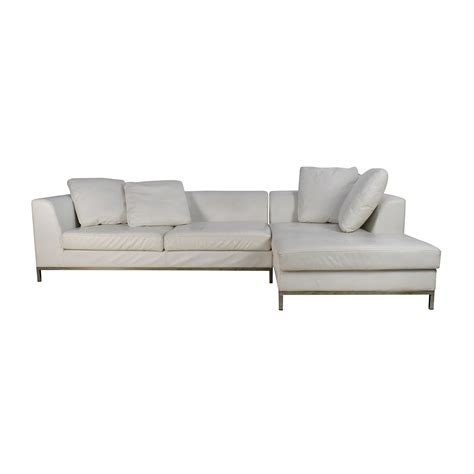 second hand designer sofas best white leather sectional chaise images liltigertoo