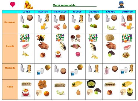 imprimir varias imagenes a la vez alimentaci 243 n sana en casa un men 250 semanal modificable