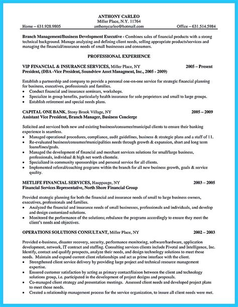 Bank Manager Resume by Starting Successful Career From A Great Bank Manager Resume