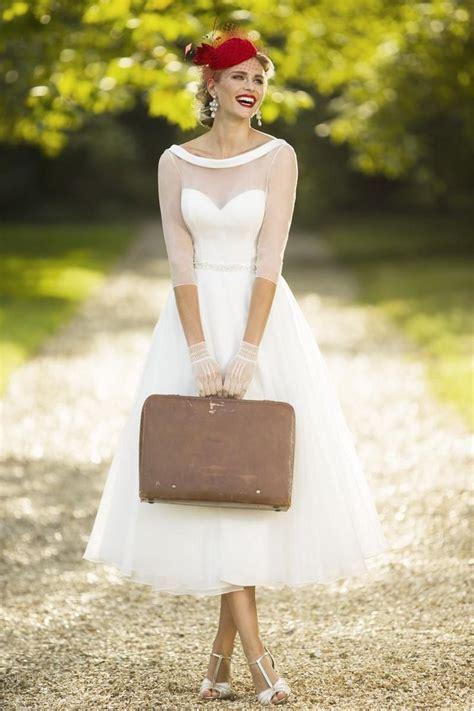 Vintage Unique Wedding Dresses by 25 Best Tea Length Wedding Dresses Ideas On