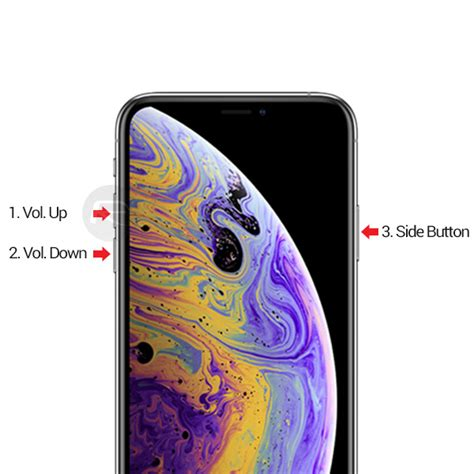 force restart hard reset iphone xs xs max xr heres