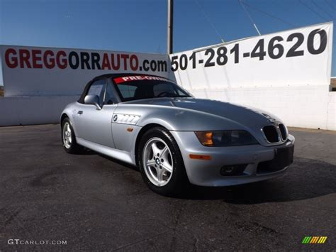 1997 arctic silver metallic bmw z3 1 9 roadster 76804221 gtcarlot car color galleries