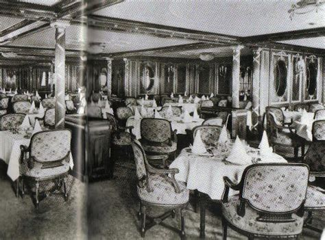 titanic 1st class dining room classes of titanic