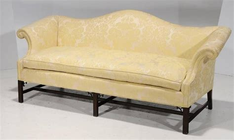 camelback sofa for sale chippendale style and upholstered camelback sofa late