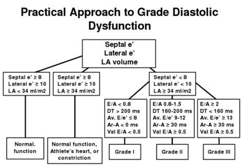 impaired relaxation pattern of lv diastolic filling diastolic function echopedia