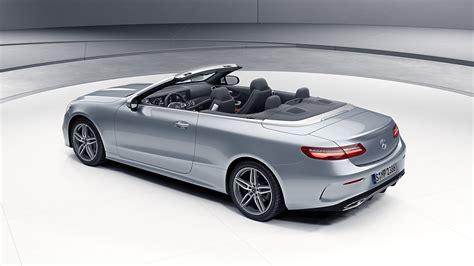 Neues Styling by Das E Klasse Cabriolet In Der Amg Line Exterieur