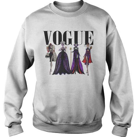 Sweater Disneymin Putih vogue disney villains evil divas paco chicano shirt hoodie sweater longsl