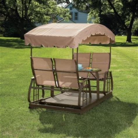 patio swings and gliders 4 person glider swing outdoors pinterest gliders and