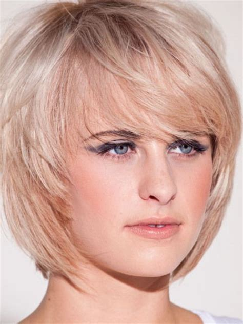 hairstyles for double chin and round face 12 short hairstyles for round faces with double chin