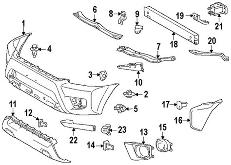 1999 toyota tacoma parts diagram toyota tacoma parts diagram exterior toyota free engine