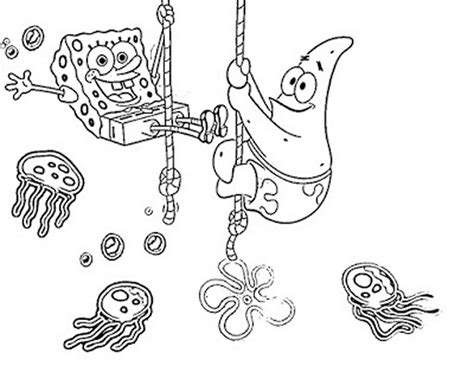 Print Download Choosing Spongebob Coloring Pages For Baby Spongebob Coloring Pages