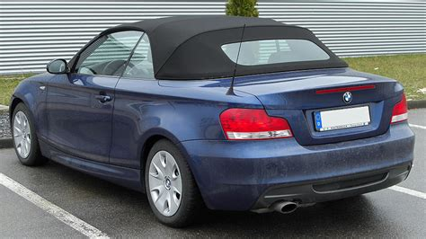 Bmw 1er Cabrio Wikipedia by File Bmw 1er Cabriolet Rear 20100314 Jpg Wikimedia Commons