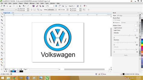 Aplikasi Desain Huruf | membuat desain logo menggunakan aplikasi coreldraw ade