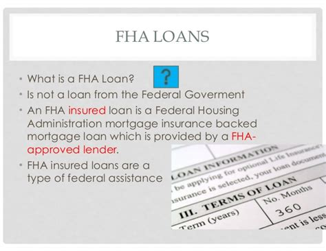 federal housing administration mortgage federal housing administration mortgage 28 images the new deal ppt fha loan
