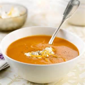 soupe de potiron au fromage frais