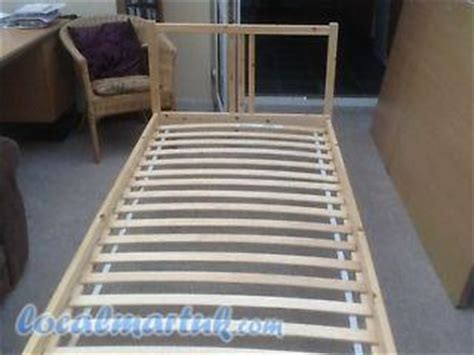 ikea luroy ikea sultan luroy single bed wooden no mattress 3ft