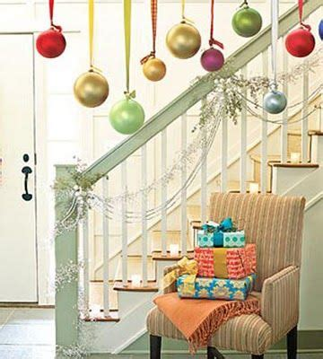 balls hanging from ribbon would look great