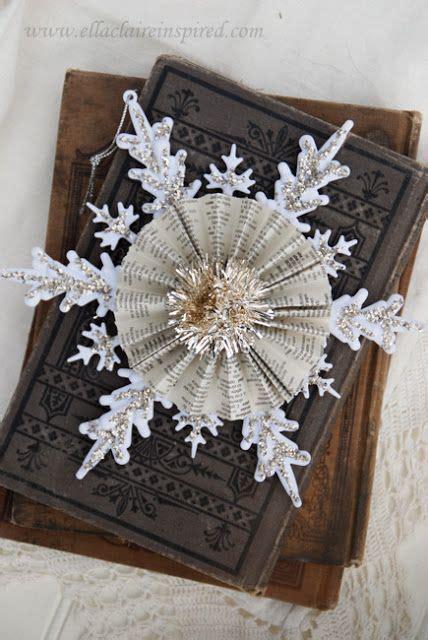 Handmade Snowflakes - handmade vintage snowflake ornament be cool