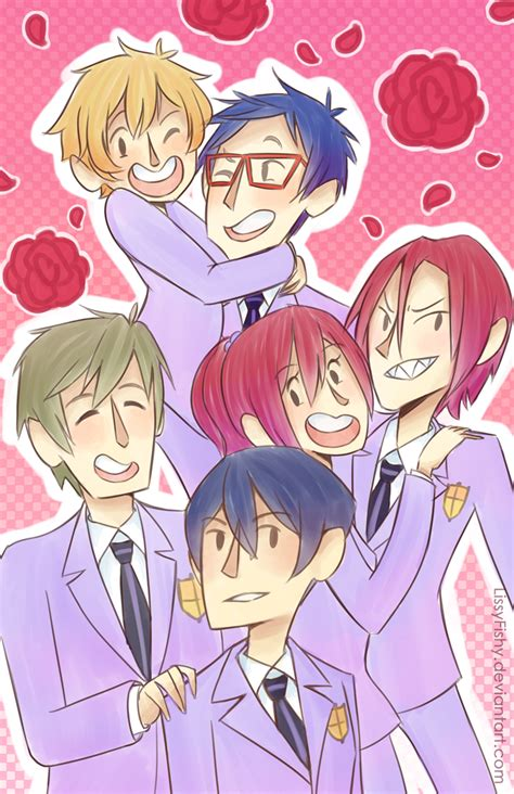 Ouran High School Host Club 1 5 Og free crossover images