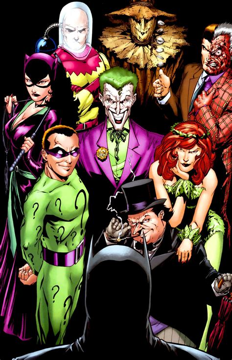pics for gt all batman villains wallpaper
