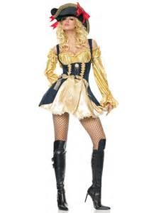 halloween pirate costumes gold vixen pirate costume