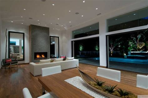 cool living rooms cool living room pool view interior design ideas