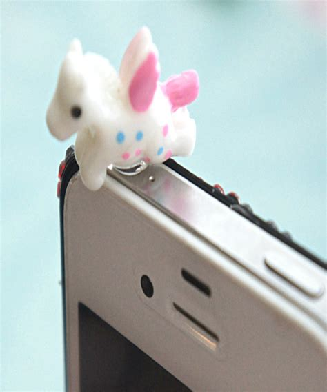8 Adorable Accessories by Unicorn Phone Kawaii Phone Accessories Dust Cover