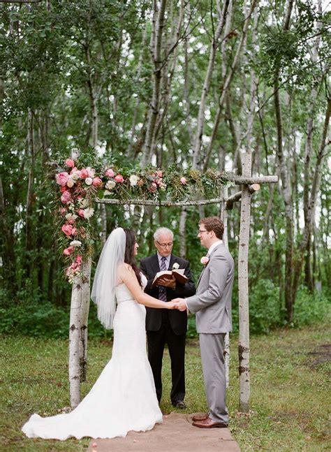When Is The Wedding by A Charming Garden Wedding In Theodore Saskatchewan