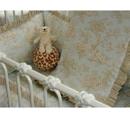 Harrison Crib by Harrison Crib Linens By Bunny Blue