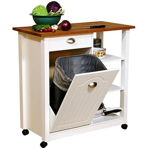 kitchen island cart walmart butcher block basic kitchen cart walmart com