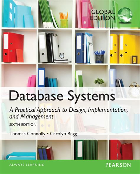 pearson education database systems a practical approach to design implementation and