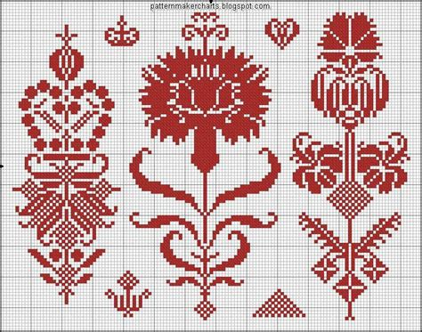 simple pattern maker 555 best images about cross stitch flowers on pinterest