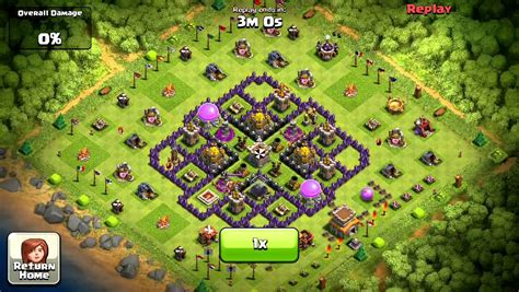 layout th8 home base clash of clan 34th th8 defense new base design a