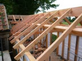 framing a shed roof diy building