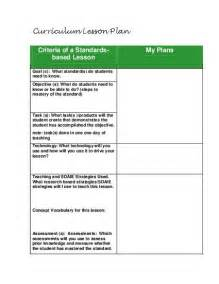 foreign language lesson plan template best photos of standards based lesson plan format