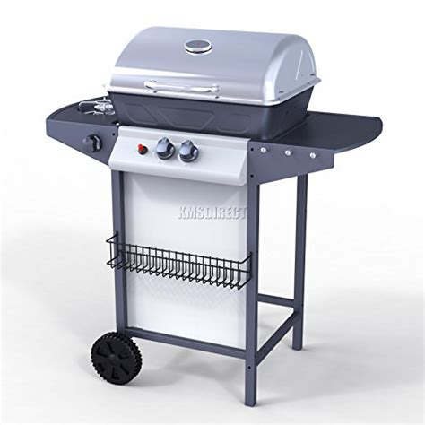 foxhunter garden outdoor portable bbq gas grill stainless