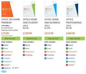 Newest Office Version Microsoft Office 2013 Now Available In The Uk Software