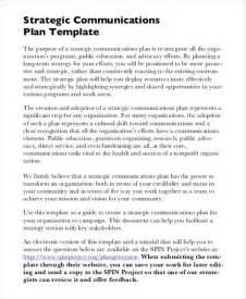 strategic communications plan template free strategic plan 45 free word pdf ppt format