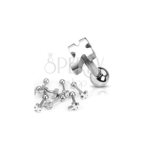 what is surgical steel made of ear piercing made of surgical steel plain cross