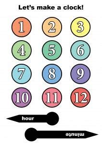 1000 Ideas About Clock Craft On Pinterest Craft Activities Happy Hooligans And Paper Plates Clock Craft Template