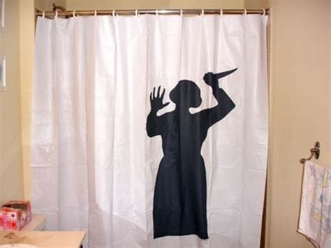 Psycho Shower Curtain by 10 Curtains Worm