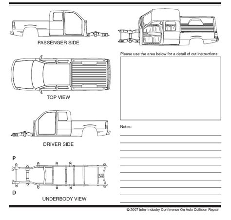 27 Images Of Crew Cab Truck Vehicle Damage Diagram Template Gieday Com Truck Inspection Form Template