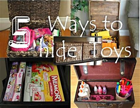 five ways to conceal toys toys living rooms and