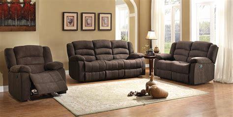 chocolate sofa set homelegance greenville reclining sofa set chocolate