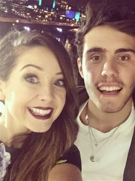 Or Zoella And Alfie Zoella Insists She Isn T Or Engaged After She And Alfie Deyes Tweet About Exciting