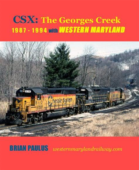 the western maryland railway volume ii with b o by brian